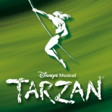 Disneys Musical TARZAN in Oberhausen in OBERHAUSEN * Stage Metronom Theater,