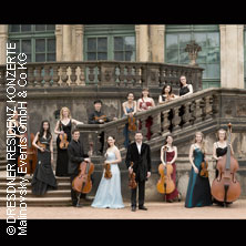 Karten für Dresdner Residenz Konzerte: Mozart-Gala - Galakonzerte - DRESDNER RESIDENZ ORCHESTER in Dresden