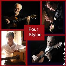 Four Styles - Gitarrenfestival Karten für ihre Events 2017