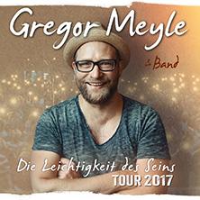 Gregor Meyle: Die Leichtigkeit des Seins - Tour 2017
