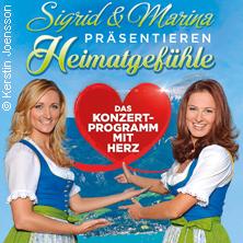 Heimatgefühle 2017 - Das Konzertprogramm mit Herz präsentiert von Sigrid und Marina