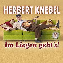Herbert Knebel Solo: Im Liegen geht's! in NIENBURG / WESER * Theater auf dem Hornwerk