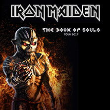 Iron Maiden: Book Of Souls Tour 2017