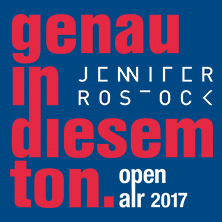 Jennifer Rostock: genau in diesem ton – open air tour 2017