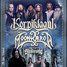 Korpiklaani & Moonsorrow + Support: Skálmöld