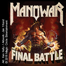 Manowar in Dortmund, 30.03.2019 - Tickets -