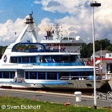 Fahrt durch den Nord-Ostsee-Kanal mit dem Fahrgastschiff MS Hamburg - Rainer Abicht Elbreederei