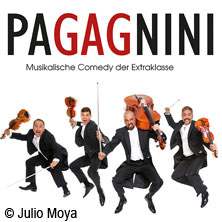 PaGAGnini: Musikalische Comedy der Extraklasse