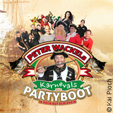 Peter Wackel's Karneval Partyboot - Piraten auf dem Rhein