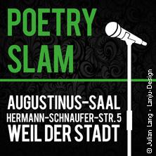 Poetry-Slam Weil Der Stadt Tickets