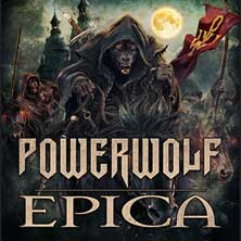 Powerwolf - Special Guests: Epica + Beyond the Black