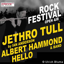 Rock Open Air 2017 - Jethro Tull by Ian Anderson, Albert Hammond u.a