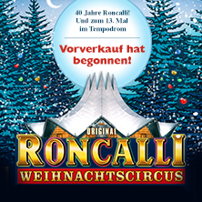 Roncalli Weihnachtscircus 2016/2017 - Preview