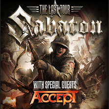 Sabaton + very special guest Accept