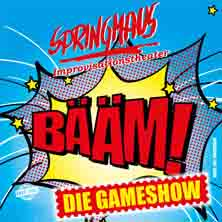 Springmaus Improvisationstheater: Bääm - Die Gameshow Tickets