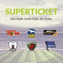Weitere Sport: Sportmetropole Berlin - Superticket Karten