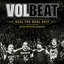 Volbeat: Seal The Deal 2017 in HAMBURG * Open Air am Volkspark,