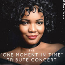 "Whitney Houston ""One Moment in Time"" Live performed by UK`s No. 1 Nya King & Band"