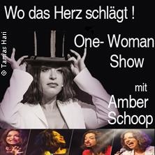 """""""Wo das Herz schlägt"""" Musical - Revue One-Woman von und mit Amber Schoop"""
