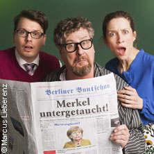 Wohin mit Mutti? Es wird eng - Kabarett-Theater Distel Berlin in BERLIN * Kabarett-Theater Distel,