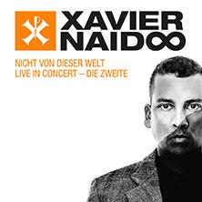 Xavier Naidoo in Frankfurt am Main, 02.12.2017 - Tickets -