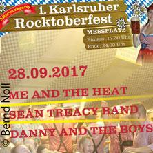1. Karlsruher Rocktoberfest in KARLSRUHE * OKTOBERFESTZELT,