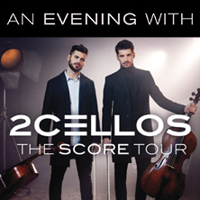 2Cellos: The Score Tour 2018 in STUTTGART * Porsche-Arena
