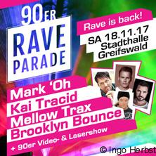 Karten für 90er Rave Parade in Greifswald