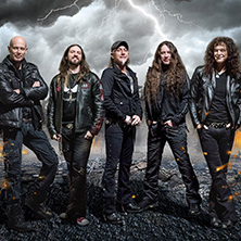 Accept - The Rise Of Chaos Tour in OBERHAUSEN * Turbinenhalle