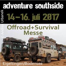 Adventure Southside 2017 - Größte Offroad & Survival Messe in Süddeutschland