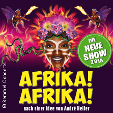 Afrika! Afrika! - Die neue Show 2018 in MÜNSTER * Messe+Congress Centrum Halle Münsterland,