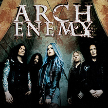 Arch Enemy: Will To Power Tour 2018 in OBERHAUSEN * Turbinenhalle,