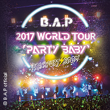 B.A.P: 2017 World Tour Party Baby! in FRANKFURT * Jahrhunderthalle Frankfurt