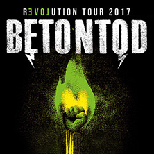 Betontod - Revolution Tour 2017 in DÜSSELDORF * Mitsubishi Electric HALLE