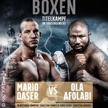 THE BIG DEAL - Mario Daser vs Ola Afolabi in HAMBURG * Barclaycard Arena,