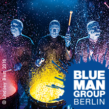 blue man group in berlin das show spektakel tickets bei. Black Bedroom Furniture Sets. Home Design Ideas