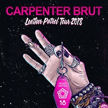 Carpenter Brut: Leather Patrol Tour 2018