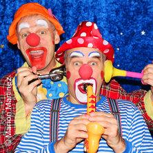 Clowns Ratatui - Galli Theater Berlin in BERLIN * Jagdschloss Grunewald - Innenhof,