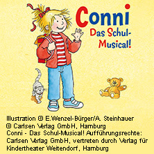 Conni - Das Schul-Musical in BAD HERSFELD * Stadthalle Bad Hersfeld,