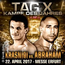 Boxen & Wrestling: Der Tag X! - Robin Krasniqi Vs. Arthur Abraham Karten