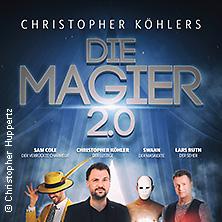 Die Magier: 2.0 - die neue Show in HEIDELBERG * Frauenbad Heidelberg,