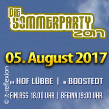 Die Sommerparty 2017 in Boostedt - Jürgen Peter, Jensen Riemann, Hier kommt Elke