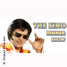 Elvis Dinner Show inkl. 3-Gang-Menü