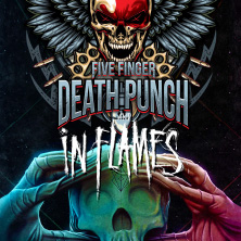 Hard & Heavy: Five Finger Death Punch & In Flames Karten
