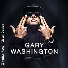 Gary Washington - Tour 2018 in MÜNCHEN * Backstage Club,