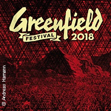 Greenfield Festival | 7. - 9. Juni 2018 Tickets