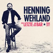 Henning Wehland Tickets