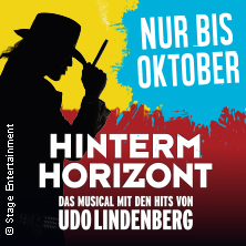 HINTERM HORIZONT in Hamburg in HAMBURG * Stage Operettenhaus,