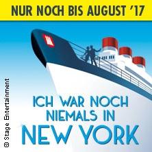 ICH WAR NOCH NIEMALS IN NEW YORK in Hamburg in HAMBURG * Stage Theater an der Elbe,