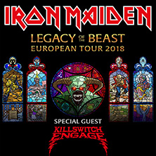 Iron Maiden in HANNOVER, 10.06.2018 - Tickets -